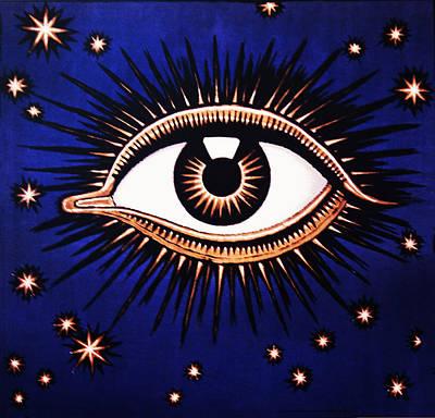 Look Em In The Eye Art Print by Bill Cannon