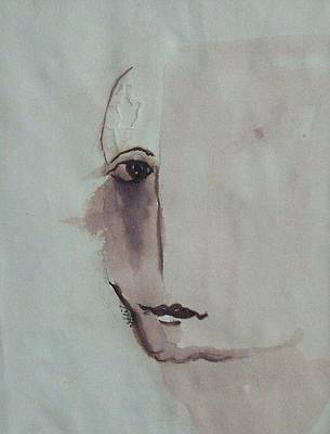 look III Art Print by Nesli Sisli