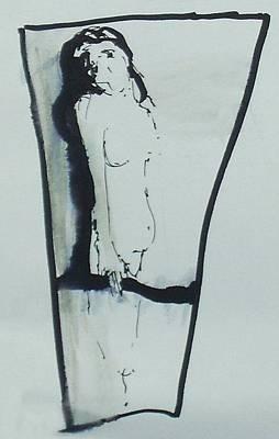 Look Art Print by Nesli Sisli