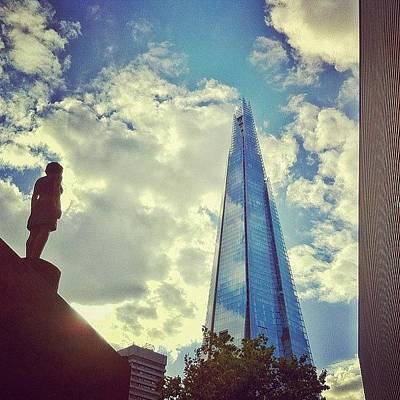 London Photograph - Look To The Future by Samuel Gunnell