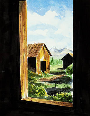 Painting - Lookin Out by Richard Mordecki