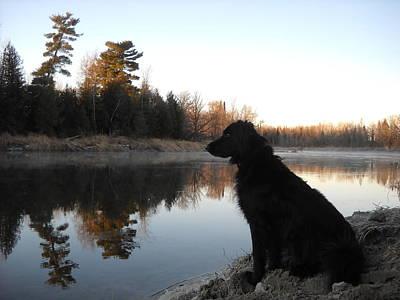 Photograph - Looking Across The River by Kent Lorentzen