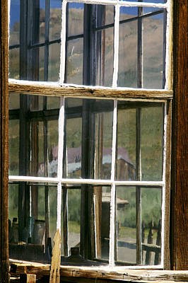 Photograph - Looking Thru The Window by Gary Brandes