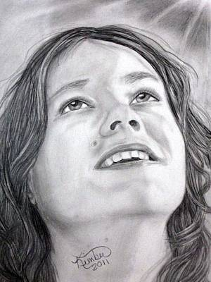 Drawing - Looking To Heaven by Kimber  Butler