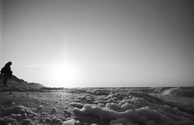 Shore Digital Art - Looking To The Sea by Betsy Knapp