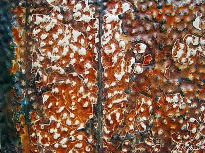 Looking Up Abstract Original