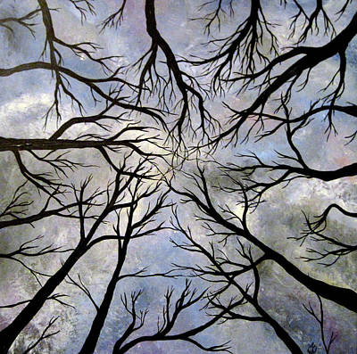 Painting - Looking Up by Claudia Croneberger
