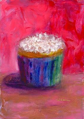 Cupcake Painting - Looks Like A Party by Jeannine Luke