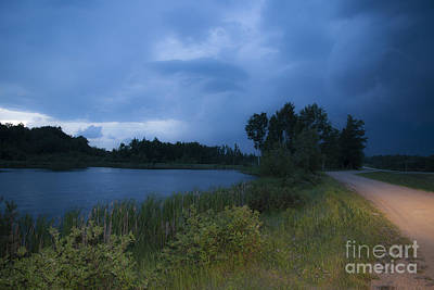 Looming Alberta Storm Print by Darcy Michaelchuk