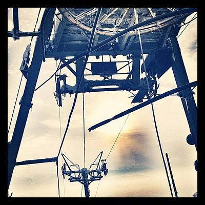 Machine Wall Art - Photograph - Looming Atat #tower #tow #pulley by Robert Campbell