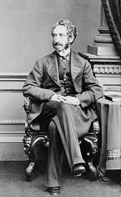 Lord Lytton 1831-1891 Robert Bulwer Art Print