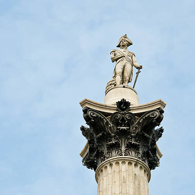Lord Admiral Nelson Photograph - Lord Nelson's Column by Beth Riser