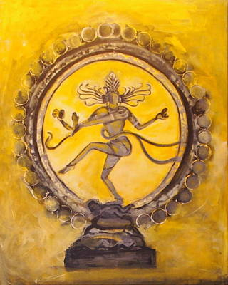 Nataraja Painting - Lord Of Dance by Partha Chinnasamy