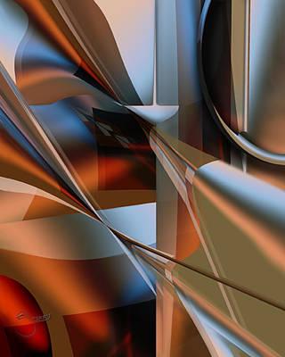 Digital Art - Lordlike by Steve Sperry