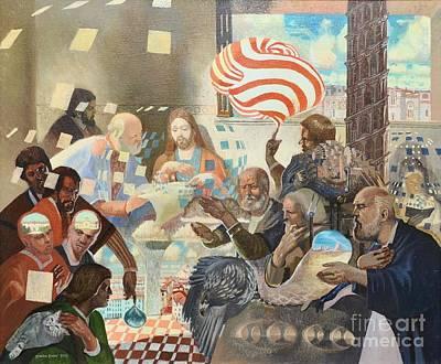 Painting - Lord's Supper by Darko Dedic-Dechanski