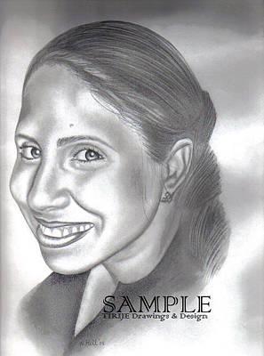 Lorna Villanueva Art Print by Rick Hill