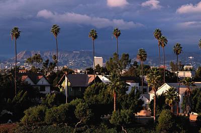 Los Angeles, California Art Print by Larry Brownstein