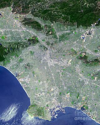 Negative Space - Los Angeles, California by Stocktrek Images