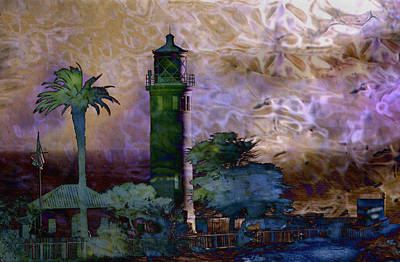 Photograph - Los Angeles Lighthouse by Carol Kinkead