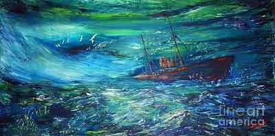 Painting - Lost In Bermuda by Mary Sedici