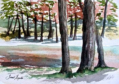 Painting - Lost Maples by Frank SantAgata