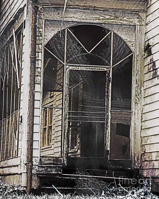 Digital Art - Lost Summer Sanctuary Government St Baton Rouge La by Lizi Beard-Ward