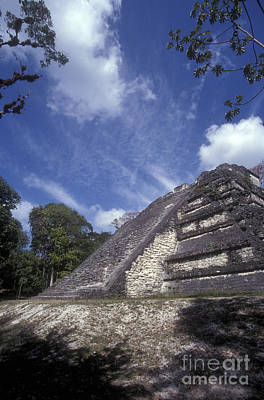 Photograph - Lost World Tikal Guatemala by John  Mitchell