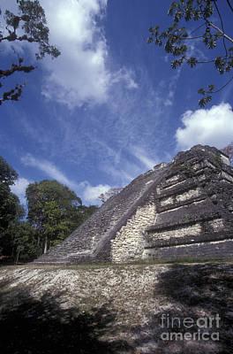 Photograph - Lost World Tikal Guatemala by John  Mitchell