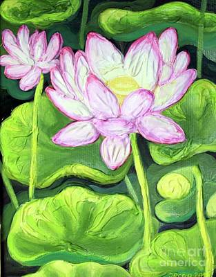 Painting - Lotus 2 by Inese Poga