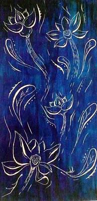 Lotus Art Print by E White