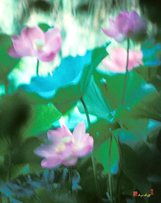 Photograph - Lotus--ethereal Impressions II 20a1 by Gerry Gantt