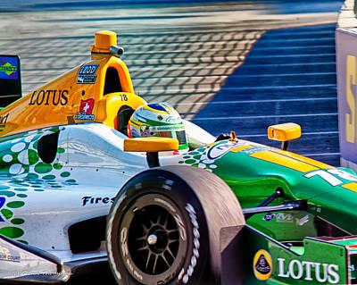Indy Car Photograph - Lotus by Glenn Thompson