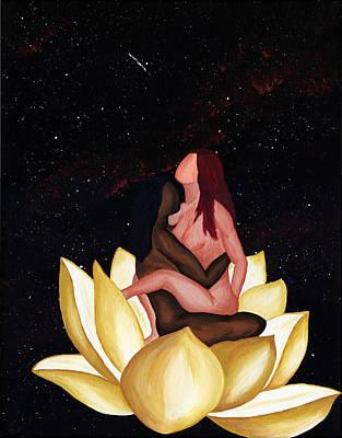 Kama Sutra Painting - Lotus In Rapture by Lisa Orban