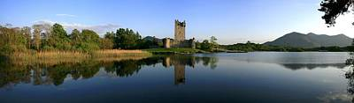 Fantasy Royalty-Free and Rights-Managed Images - Lough Leane, Ross Castle, Killarney by Peter Zoeller