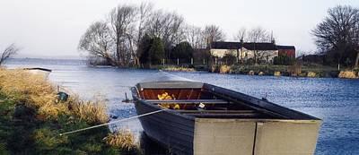 Lough Neagh, Co Antrim, Ireland Boat In Art Print by Sici