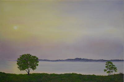 Painting - Lough Neagh N.ireland by Flo Markowitz