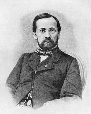 Louis Pasteur, French Chemist Art Print by