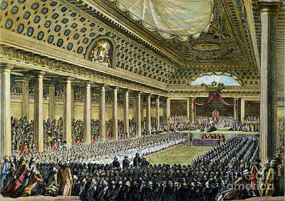 Louis Xvi - Estates General Art Print