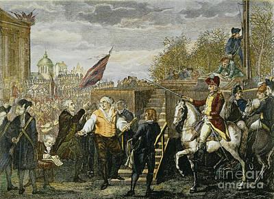 Louis Xvi: Execution, 1793 Art Print by Granger