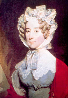Louisa Adams 1775-1852, First Lady Art Print by Everett