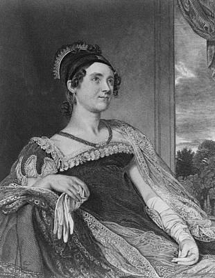 Louisa Catherine Adams Mrs. John Quincy Art Print by Everett