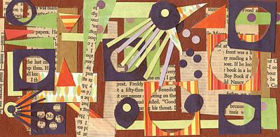 Louises Lash  Art Print by Pegeen  Shean