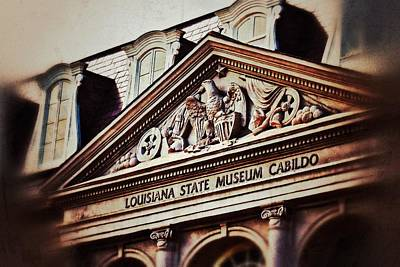 Print featuring the photograph Louisiana State Museum Cabildo by Jim Albritton