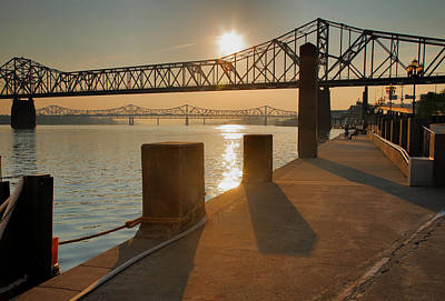 Louisville Waterfront I Art Print