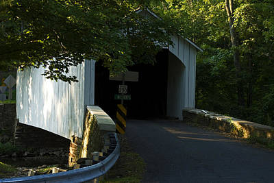 Photograph - Loux Covered Bridge by Elsa Marie Santoro
