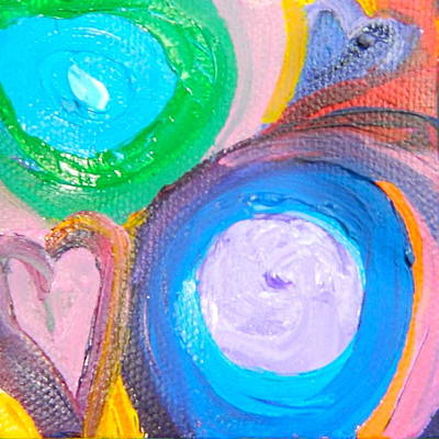 Painting - Love 10 by Kat Kemm
