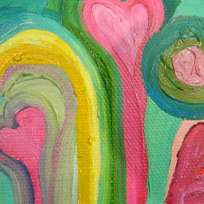 Painting - Love 13 by Kat Kemm