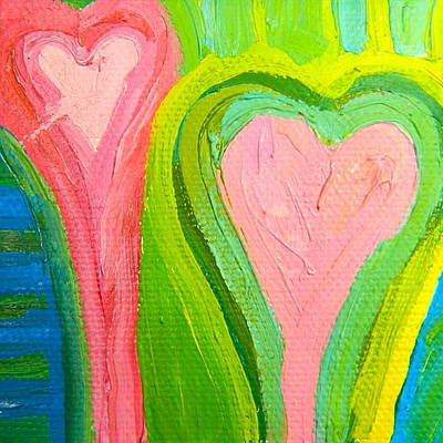 Painting - Love 5 by Kat Kemm