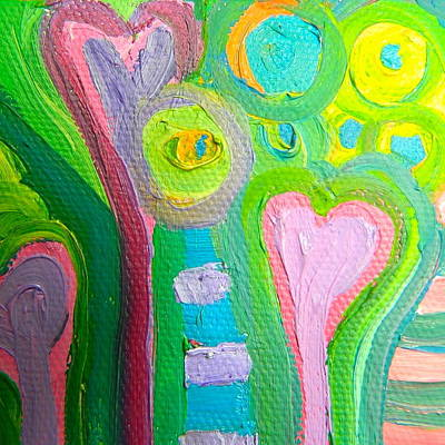 Painting - Love 8 by Kat Kemm