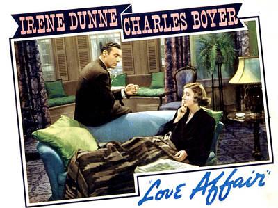 Posth Photograph - Love Affair, Charles Boyer, Irene by Everett